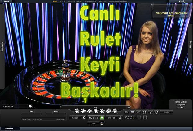 canlı rulet, canlı rulet siteleri, canlı rulet oyna